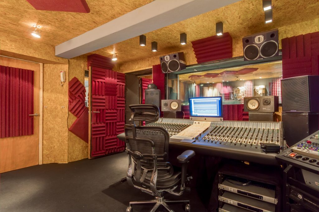 Studio Control Room